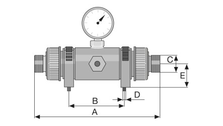 Pulsation Damper for Motor-Driven Metering Pumps - ProMinent