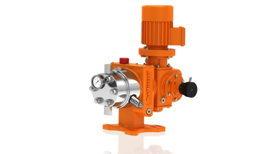 Hydraulic Diaphragm Metering Pump Orlita<sup>®</sup> Evolution