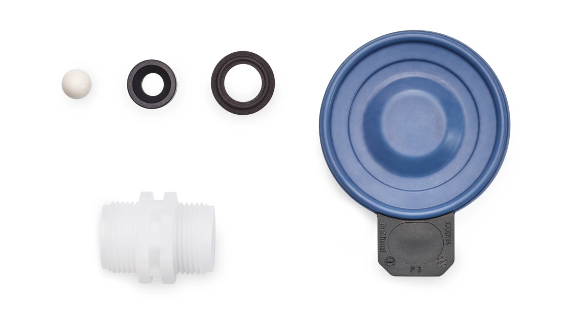 Spare Parts Kits and Spare Diaphragms for Motor-Driven Metering Pump alpha