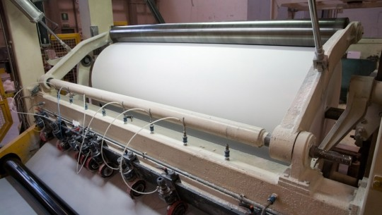 Good news: environmentally-friendly production of news print paper