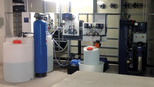 Reducing operating costs - by recycling water